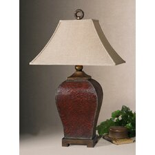 Patala Table Lamp in Rectangular Bell Shade