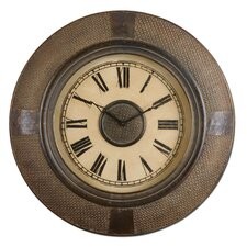 Atley Clock in Distressed Dark Bronze