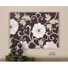 Climbing Neutral Floral Wall Art