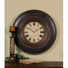 Adonis Clock in Distressed Black