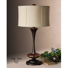 "Lahela 30"" H Table Lamp with Drum Shade"