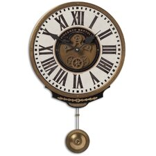 "11"" Vincenzo Bartolini Weathered Wall Clock"