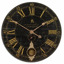 "<strong>Uttermost</strong> Bond Street Oversized 30"" Wall Clock"