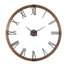 "<strong>Uttermost</strong> Amarion Oversized 60"" Wall Clock"