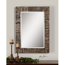 Coaldale Mirror in Bark Veneer