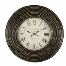 "<strong>Uttermost</strong> Oversized 38"" Trudy Wall Clock"
