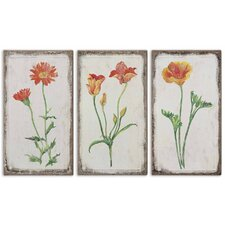 "3 Piece Casual Change by Grace Feyock Wall Art Set - 22.25""x12"""