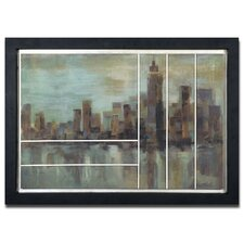 <strong>Uttermost</strong> Misty Day in Manhattan Framed Wall Art