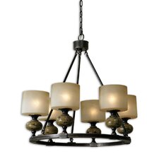 <strong>Uttermost</strong> FW Generic Porano 6 Light Chandelier