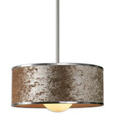 FW Generic Panache 1 Light Drum Foyer Pendant