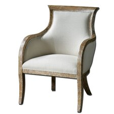 Quintus Linen Arm Chair
