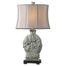 "Norrisia 31"" H Table Lamp with Oval Shade"