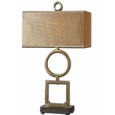 "Rashawn 32.25"" H Table Lamp with Rectangle Shade"