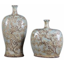 2 Piece Citrita Decorative Vase Set