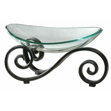 Arla Clear Glass Bowl