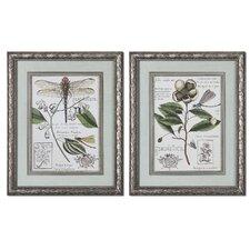 Grandiflora 2 Piece Framed Painting Print Set