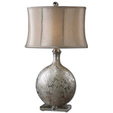 "Navelli 31.5"" H Table Lamp with Oval Shade"