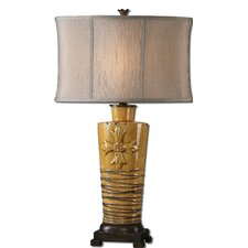 "Alfiano 31.25"" H Table Lamp with Oval Shade"