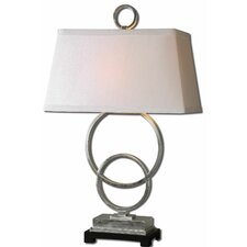 """Bacelos 34"""" H Table Lamp with Rectangle Shade"""