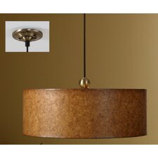 Sonoma 3 Light Hanging Drum Foyer Pendant