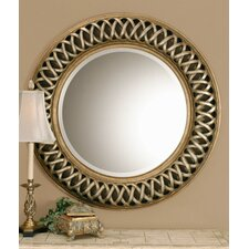 <strong>Uttermost</strong> Entwined Round Wall Mirror