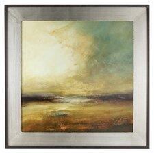 New Land Framed Original Painting