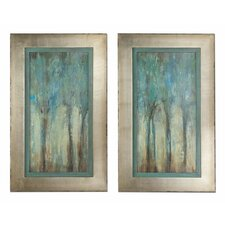 2 Piece Whispering Wind Framed Wall Art Set