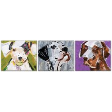 <strong>Uttermost</strong> Three Amigos Canvas Art