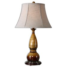 """Algona 31"""" H Table Lamp with Bell Shade"""