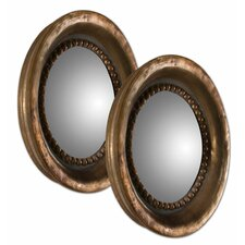 Tropea Rounds  Wall Mirror (Set of 2)