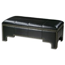 <strong>Uttermost</strong> Onika Faux Leather Storage Bench