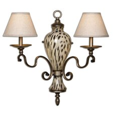 <strong>Uttermost</strong> Malawi 2 Light Wall Sconce