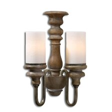 Torreano 2 Light Wall Sconce