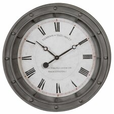 "Porthole Overasized 24.38"" Wall Clock"