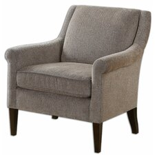 <strong>Uttermost</strong> Nelle Herringbone Arm Chair