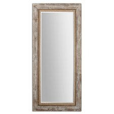Fardella Wood Floor Mirror