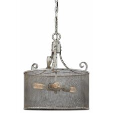Pontoise 3 Light Drum Pendant