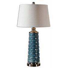 "Delavan 32"" H Table Lamp with Empire Shade"