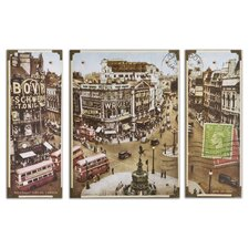 <strong>Uttermost</strong> Picadilly Circus Wall Art (Set of 3)