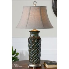 "Valenza 31"" H Table Lamp with Bell Shade"