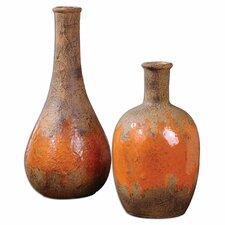 2 Piece Kadam Vase Set
