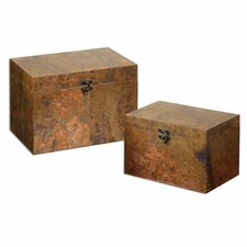 2 Piece Ambrosia Copper Box Set