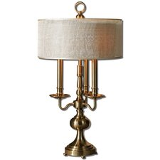 "Santina 29.5"" H Table Lamp with Drum Shade"