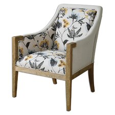 Floral Curran Arm Chair