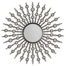 <strong>Uttermost</strong> Kimani Mirror in Antiqued Silver
