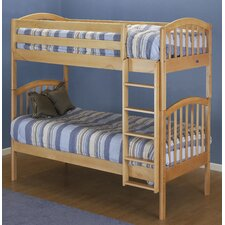 <strong>Orbelle Trading</strong> Classic Twin over Twin Bunk Bed