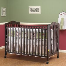 Lisa Two Level Full Size Folding Convertible Crib