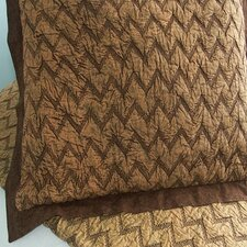 Eclectic Enzyme Wash Euro Sham in Brown