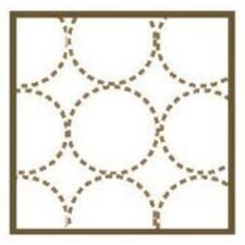 <strong>Bacati</strong> Quilted Circles 3 Piece Wall Hangings in White and Chocolate