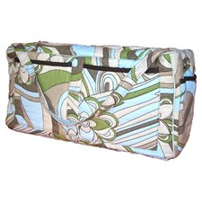 <strong>Bacati</strong> Retro Flowers Quilted Diaper Bag